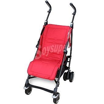 JM CAMPOS Colchoneta recta universal para silla de paseo en color rojo