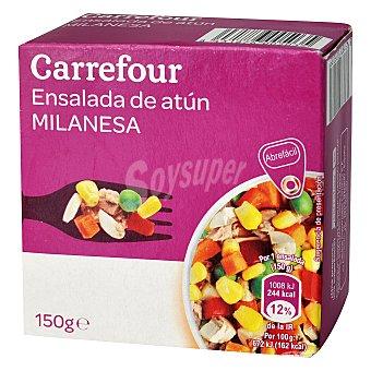 Carrefour Ensalada milanesa de atún con vegetales 157 g
