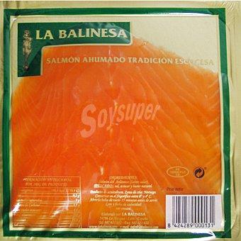 LA BALINESA Salmón ahumado escocés Sobre 100 g