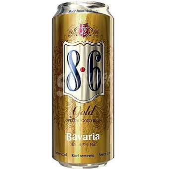 BAVARIA 8.6 Gold Cerveza rubia de importación Holanda Lata 50 cl
