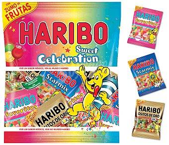 Haribo Caramelos surtidos con zumo de frutas Sweet Celebration 400 g