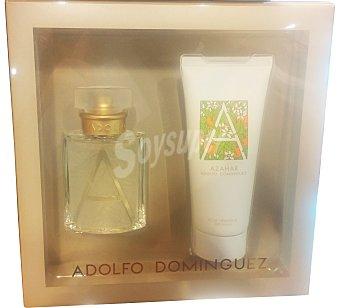 ADOLFO DOMINGUEZ Lote mujer azahar eau de toilette vaporizador 50 ml + Loción corporal 100 ml u