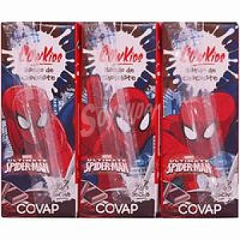 Covap Batido de choco. Cow Kids Disney Spiderman Pack 3x200 ml