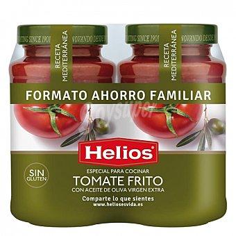 Helios Salsa de tomate con aceite de oliva virgen extra sin gluten Pack de 2 tarros de 560 g