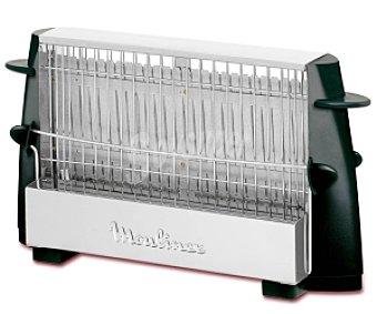 MOULINEX ON/OFF Tostador multipan en acero inoxidable moulinex A15453, hasta 4 rebanadas, puede tostar cualquier clase de pan, pared de toque frío