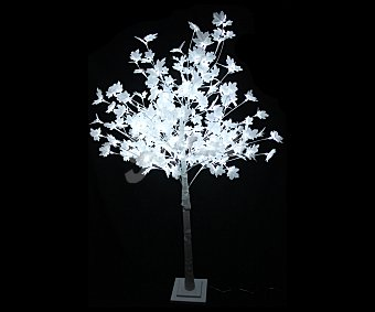 Actuel Abeto artificial de exterior e interio de 180 centímetros, con 192 luces led, ACTUEL.