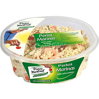 PIERRE MARTINET Ensalada perlas marinas con pasta, surimi y gambas Envase 250 g