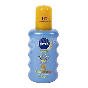 Nivea Sun Spray solar bronceador con factor de protección 30 Spray 200 ml