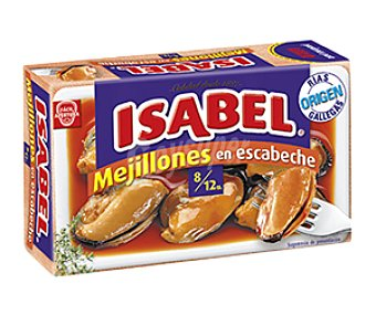 Isabel Mejillón escabeche 3 latas de 120 g