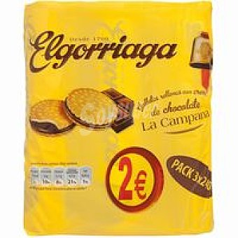 El Gorriaga Galleta rellena de chocolate 250 g