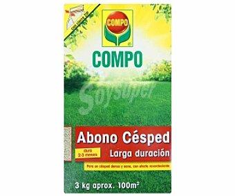 Compo Abono granulado especial para todo tipo céspedes, ornamentales y deportivos 3 kilogramos