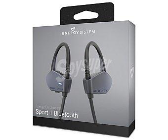 ENERGY SISTEM SPORT Auriculares Bluetooth tipo deportivo GRAPHITE 427451 con micrófono, color grafito