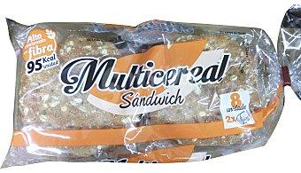 LA FAMILIA Pan sandwich multicereal Paquete 8 unidades, 310 g