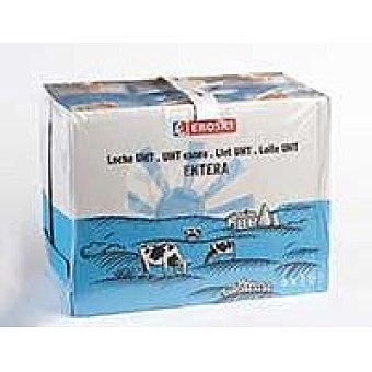 Eroski Leche Entera Pack 6x1 litro