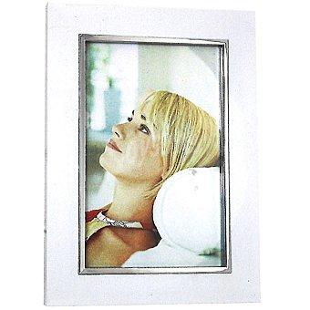 Hofmann Marco blanco con borde metalico 13 x 18 cm