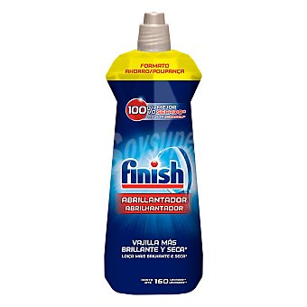 Finish Abrillantador de lavavajillas brillo y protección  Botella de 800 ml