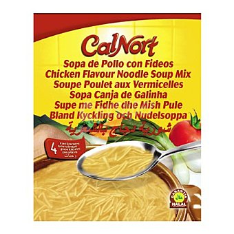 Calnort Sopa de fideo con pollo 66 g
