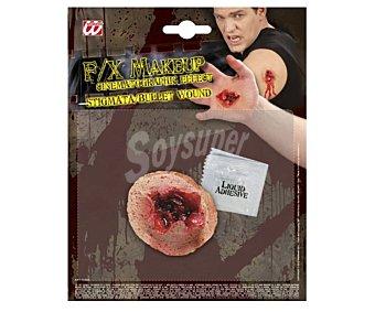 WIDMANN Herida de bala adhesiva, Halloween Herida de bala