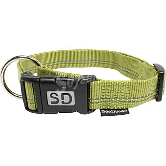 San Dimas collar de nylon color verde medida 20 mm 1 unidad