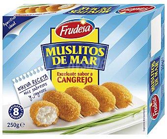 Frudesa Muslitos de mar sabor cangrejo Estuche 250 g