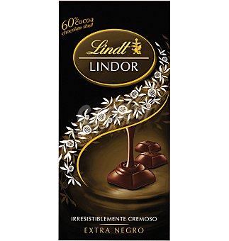 Lindt Chocolate lindor negro 100 GRS