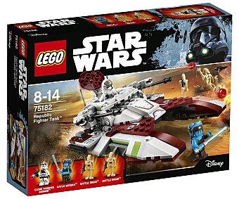 LEGO Star Wars 75182 Juego de construcciones con 305 piezas Republic Fighter Tank, Star Wars 75182 LEGO.