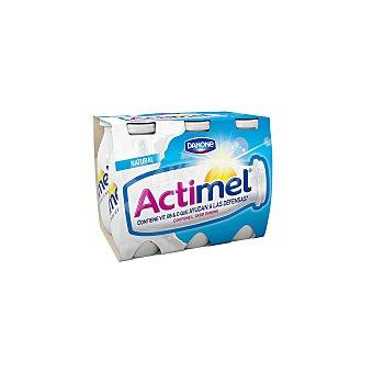 Actimel Danone Actimel para beber natural 6 unidades de 100 ml