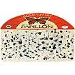 Queso roquefort rojo francés elaborado con leche entera cruda de oveja DOP 100 gramos Papillon