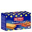 Tostadas para canapé cuadradas 5 packs Estuche 100 g Recondo