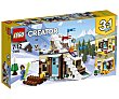 Juego de construcciones 3 en 1 con 374 piezas Refugio de invierno modular, Creator 31080 lego  LEGO