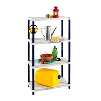 Carrefour Estanteria resina 4 baldas . estanteria resina 4 baldas