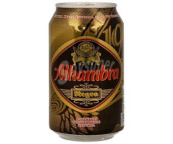 Alhambra Cerveza negra Lata de 33 cl