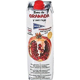Hipercor Zumo de granada y uva roja envase 1