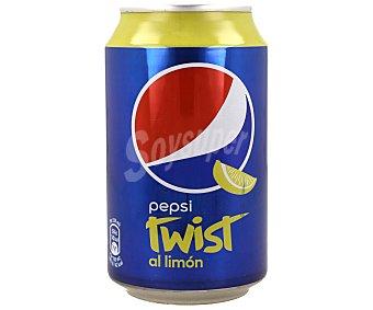 Pepsi Refresco de Cola con limón Lata 33 cl