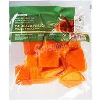 Eroski Calabaza limpia troceada Bolsa 500 g