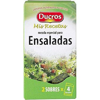 Ducros Sazonador para ensaladas Mis recetas envase 10 g Envase 10 g