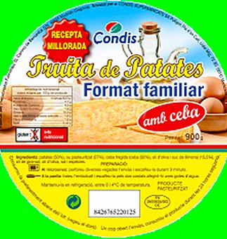 Condis Tortilla familiar 900 GRS