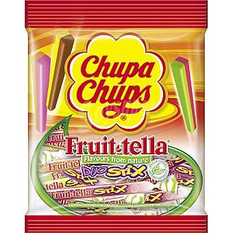 Chupa Chups Fruit Tella. Caramelos blandos elaborados con zumo de frutas Bolsa 150 g