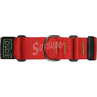Bub's collar corredizo para perros color rojo talla grande 30-50 cm  1 unidad