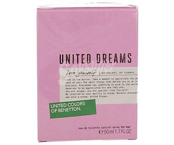 Benetton Colonia United Dreams Love Yourseft spray 50 ml