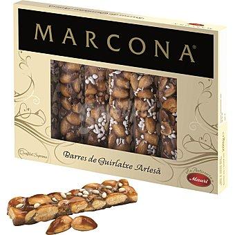 Marcona Barritas de turrón guirlache de Aragón estuche 200 g Estuche 200 g