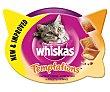 Temptations snacks para gato con pollo y queso Envase 60 g Whiskas