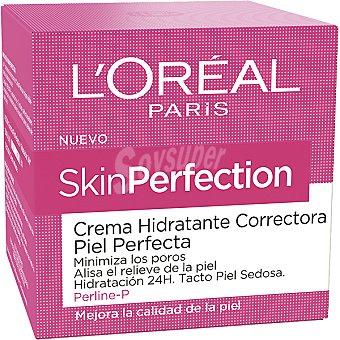Skin Perfection L'Oréal Paris Crema hidratante de día correctora piel perfecta Tarro 50 ml