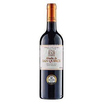 ABADIA DE SAN QUIRCE vino tinto crianza D.O. Ribera del Duero botella 75 cl