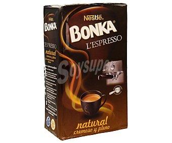 Bonka Nestlé Café molido de tueste natural, espresso y cremoso 250 gramos