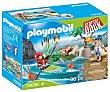 Conjunto de juego Aventura en canoa con 36 piezas y 2 figuras incluidas, 70035 Starter Pack playmobil 70035 Aventura en canoa  Playmobil