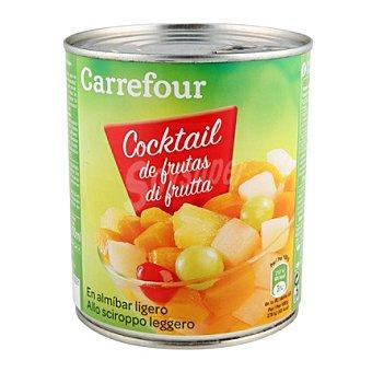 Carrefour Cocktail de frutas en almíbar 480 g