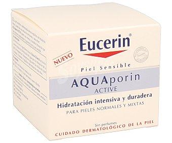 Eucerin Crema facial hidratante intensiva y duradera para pieles normales a mixtas 50 mililitros