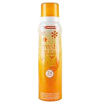 Eroski Desodorante femenino fresh Spray 150 ml