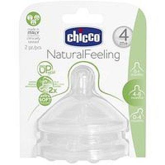 CHICCO Tetina step up new 4m+ flujo regulable 1u